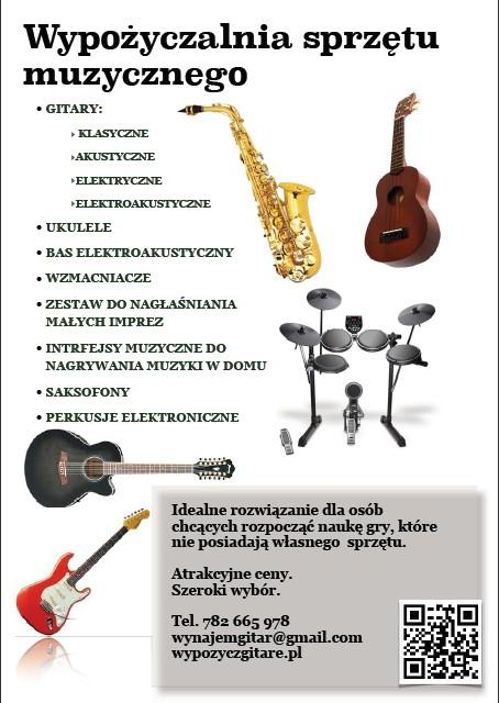 Wypożyczalnia instrumentów