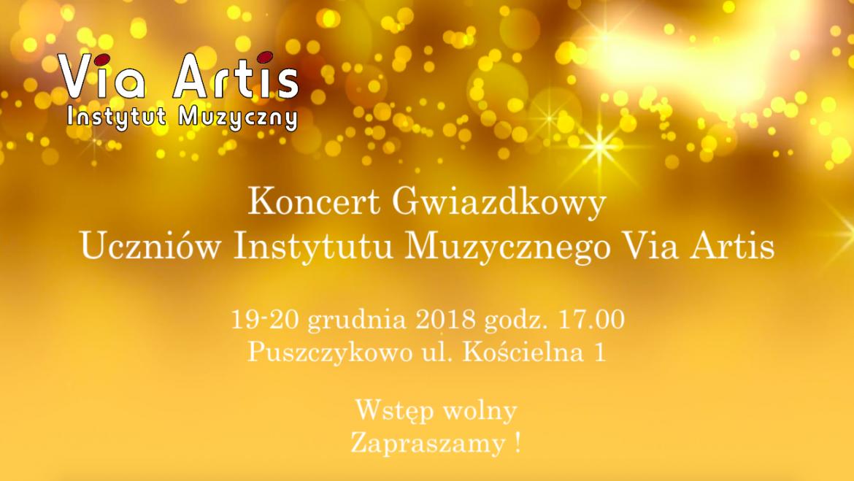 Koncert Gwiazdkowy Uczniów Instytutu Muzycznego Via Artis