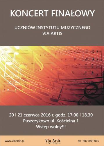 Koncert Finałowy 20 i 21 czerwca 2016