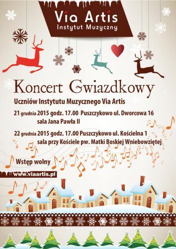 Koncert Gwiazdkowy 21 i 22 grudnia 2015